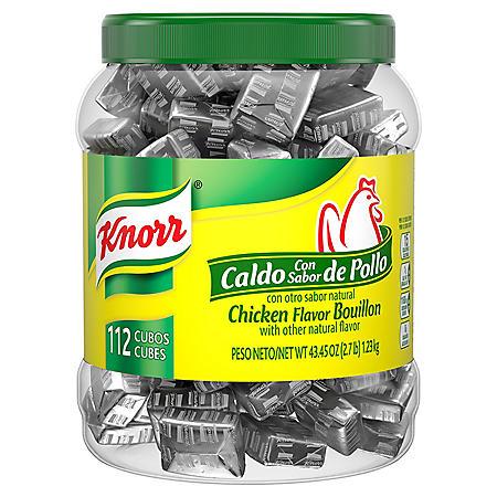 Knorr Cube Chicken Flavor Bouillon (112 ct.)