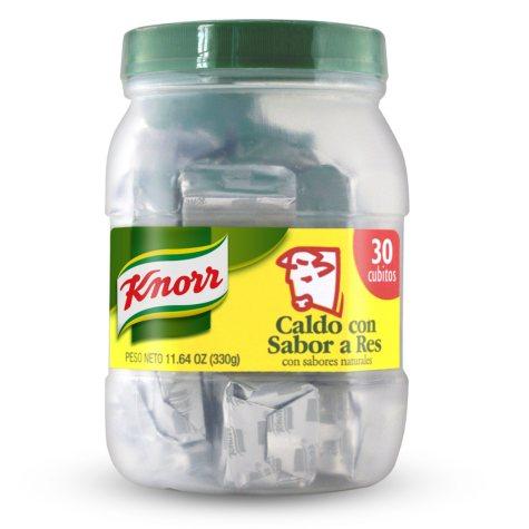 Knorr Beef Bouillon Jar - 30 ct.