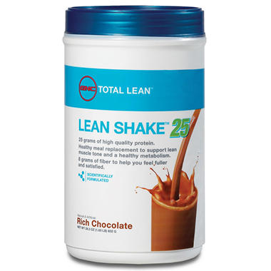 GNC Total Lean - Lean Shake 25 - Rich Chocolate - 1.83 lbs.