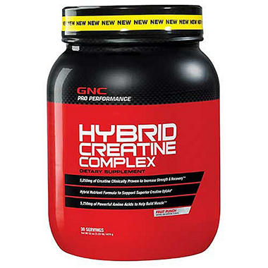 GNC Pro Performance Hybrid Creatine Complex - Fruit Punch - 3.25 lbs.