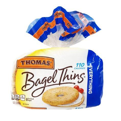 Thomas Everything Bagel Thins (8 ct., 13 oz.)