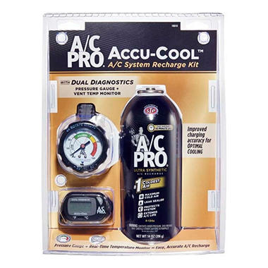 A/C Pro Accucool A/C System Recharge Kit