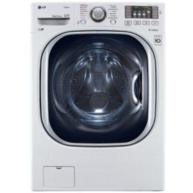 LG 4.5 cu. ft. Ultra-Large Capacity TurboWash Washer with NFC Tag-On Technology - WM4370HWA White