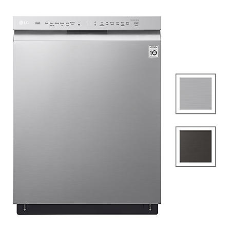 LG Front Control Dishwasher with QuadWash, 48 dBA