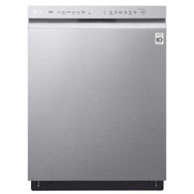 LG Front Control Dishwasher With QuadWash And EasyRack Plus   LDF5545ST  Stainless Steel