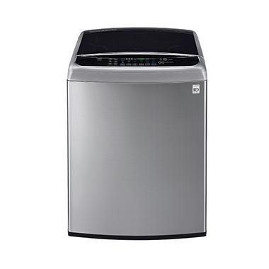 LG 4.9 cu. ft. Mega-Capacity Front-Control TurboWash Washer with Steam - WT1801HVA Graphite Steel