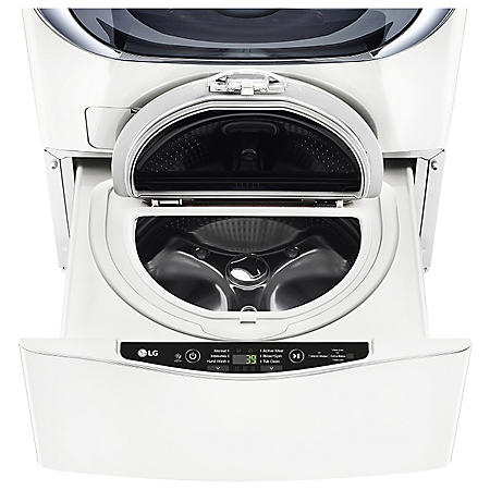LG 1.0 cu ft. SideKick Pedestal Washer