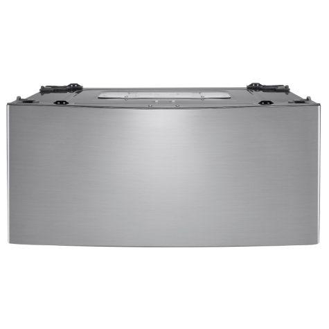 LG - 1.0 cu. ft. SideKick Pedestal Washer, LG TWIN Wash Compatible - WD200CV Graphite Steel