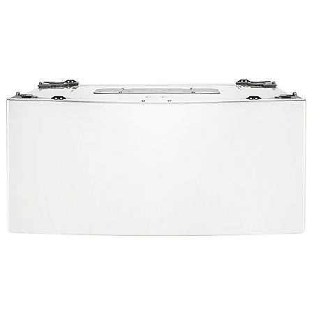 LG - 1.0 cu. ft. SideKick Pedestal Washer, WD200CW White