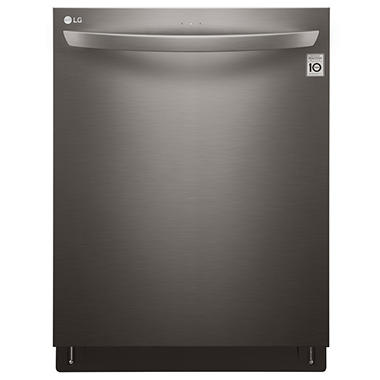 LG Top-Control Dishwasher with Bar handle, TurboMotion - LDT5665BD Black Stainless Steel