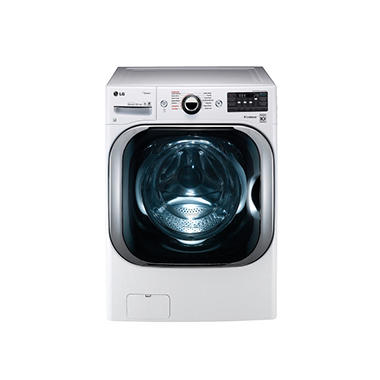 LG 5.2 cu. ft. Mega-Capacity TurboWash Washer with Steam Technology - WM8100HWA White