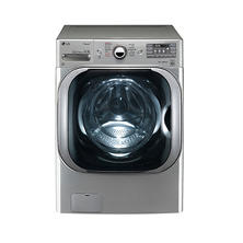 LG 5.2 cu. ft. Mega-Capacity TurboWash Washer with Steam Technology - WM8100HVA Graphite Steel