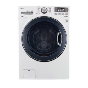 LG 4.5 cu. ft. Ultra-Large-Capacity TurboWash Washer - WM3770HWA White