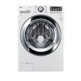 LG 4.5 cu. ft. Ultra-Large Capacity Washer with Steam Technology - WM3670HWA White