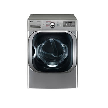 Lg 9 0 Cu Ft Mega Capacity Electric Dryer With Steam Technology Dlex8100v