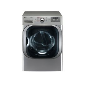 LG 9.0 cu. ft. Mega-Capacity Electric Dryer with Steam Technology - DLEX8100V Graphite Steel