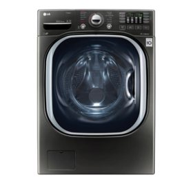 LG 4.5 cu. ft. Ultra-Large Capacity TurboWash Washer with NFC Tag-On Technology WM4370HKA - Black Stainless Steel