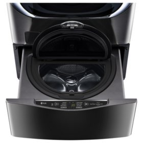 LG 1.0 cu. ft. SideKick Pedestal Washer - WD100CK