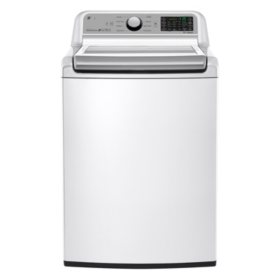 LG 5.0 cu. ft . Mega Capacity Top-Load Washer, WT7200CW White