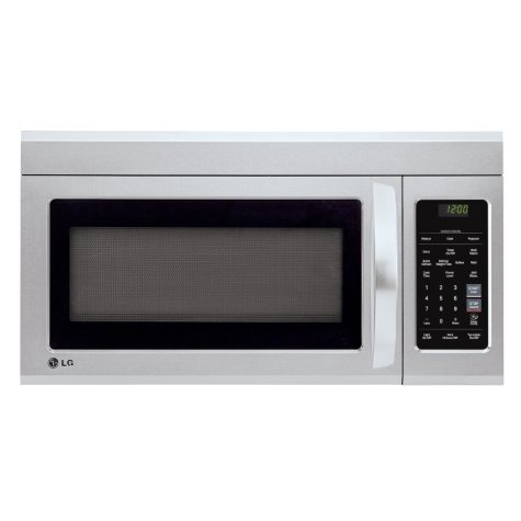 LG 1.8 cu.ft. Over-the-Range Microwave Oven - LMV1831ST Stainless Steel