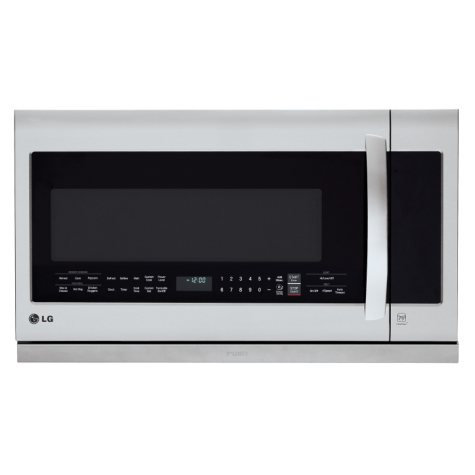 LG 2.2. cu. ft. Over-the-Range Microwave Oven - LMHM2237ST Stainless-Steel
