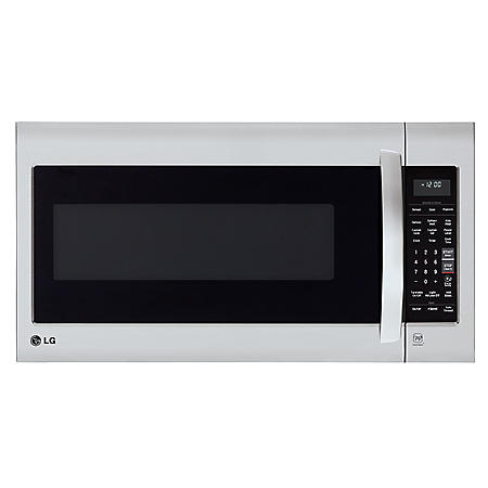LG - 2.0 cu.ft. Over-the-Range Microwave Oven - LMV2031ST Stainless Steel