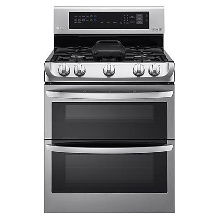LG 6.9 cu. ft. Double Oven Range with ProBake Convection