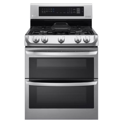 Gas Double Oven Range With ProBake Convection, EasyClean