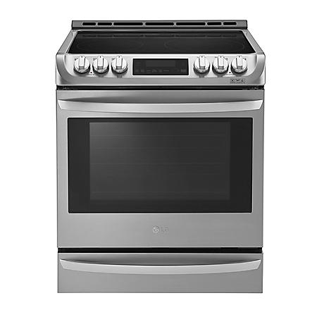 LG 6.3 cu. ft. Slide-In Electric Range with ProBake Convection