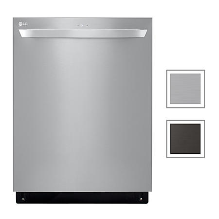 LG Top Control Dishwasher with QuadWash, 46 dBA