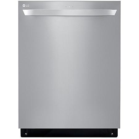 LG Top Control Dishwasher with QuadWash, 46 dBA