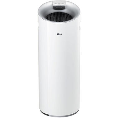 LG AS401WWA1 PuriCare Tower 3-Stage Filter Air Purifier with Smart Air Quality Sensor and LoDecibel Operation