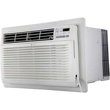 LG 11,200 BTU 230V Through-the-Wall Air Conditioner with 11,200 BTU Supplemental Heat Function