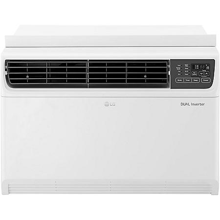 LG 18,000 BTU Dual Inverter Window Air Conditioner with Remote Control