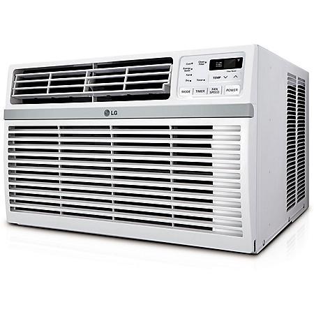 LG High Efficiency 8,200 BTU Window Air Conditioner with Remote Control