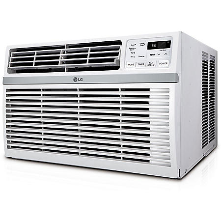 LG Energy Star Rated 8,200 BTU Window Air Conditioner with Remote Control