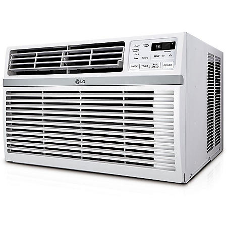 LG Energy Star Rated 6,000 BTU Window Air Conditioner with Remote Control