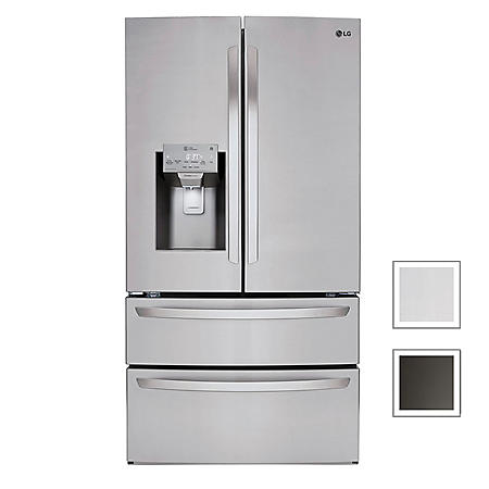 LG 28 cu. ft. 4-Door Refrigerator with SmartThinQ Technology