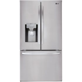 LG LFXS28566S - 28 cu ft Smart Wi-Fi Enabled Door-in-Door Refrigerator - Stainless Steel
