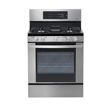 Lg 5 4 Cu Ft Single Oven Gas Range With Easyclean Lrg3061st Stainless
