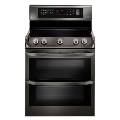 Electric Double Oven Range With ProBake Convection, EasyClean