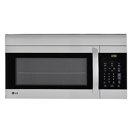 LG - 1.7 cu.ft. Over-the-Range Microwave Oven - LMV1762ST Stainless Steel