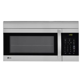LG 1.7 cu.ft. Over-the-Range Microwave Oven - LMV1762ST Stainless Steel