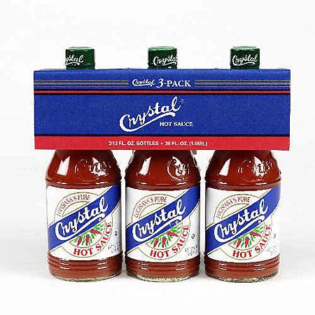 Crystal® Hot Sauce (12 oz., 3 pk.)