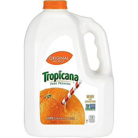 Tropicana Pure Premium No Pulp (1 gal jug)