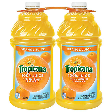 Tropicana 100% Orange Juice (96oz / 2pk)