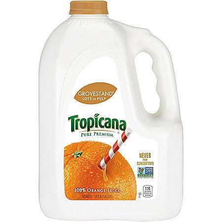 Tropicana® Pure Premium Orange Juice - 128 oz.