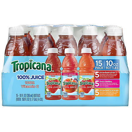 Tropicana Juice Blend Variety Pack (10 oz., 15 pk.)