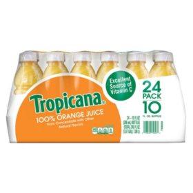 Tropicana 100% Orange Juice (10 oz., 24 pk.)