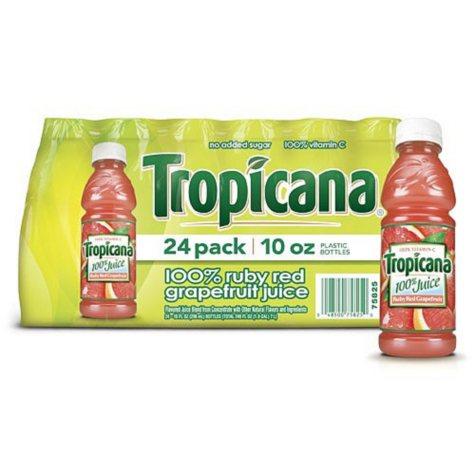 Tropicana Ruby Red Grapefruit - 24/10oz